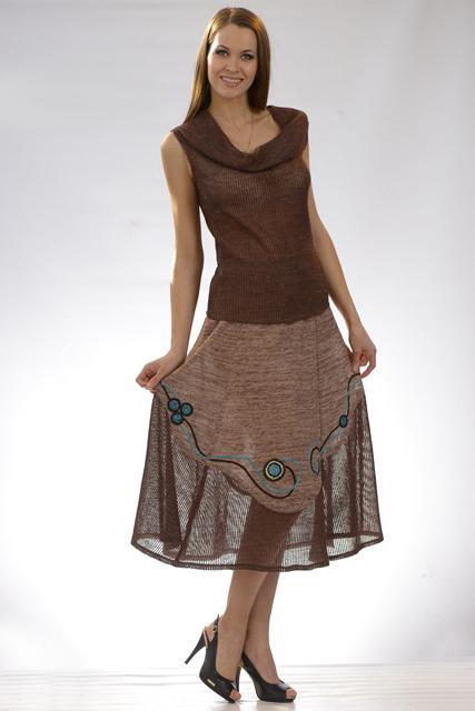 платье простое и интересное